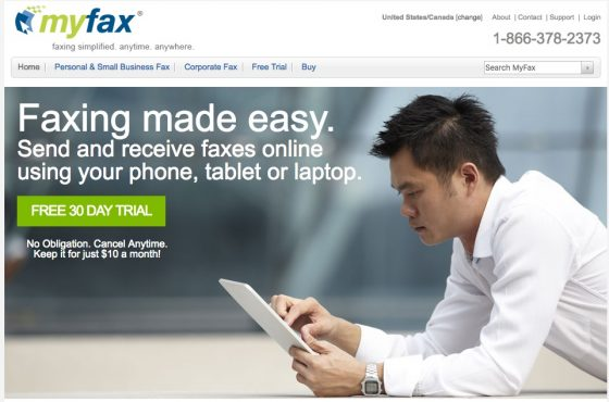 MyFax Review of Features and Specs 2016